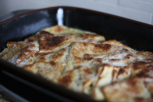 Christmas Cake Leftover Ideas : Christmas bread and butter pudding. A great way to use up ...