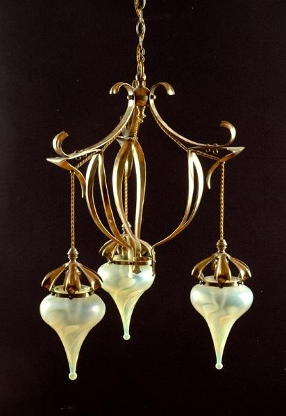 102 best was benson images on pinterest glass shades arts an arts crafts w benson style brass ceiling light the ceiling lights lighting carters price guide to antiques and collectables aloadofball Images