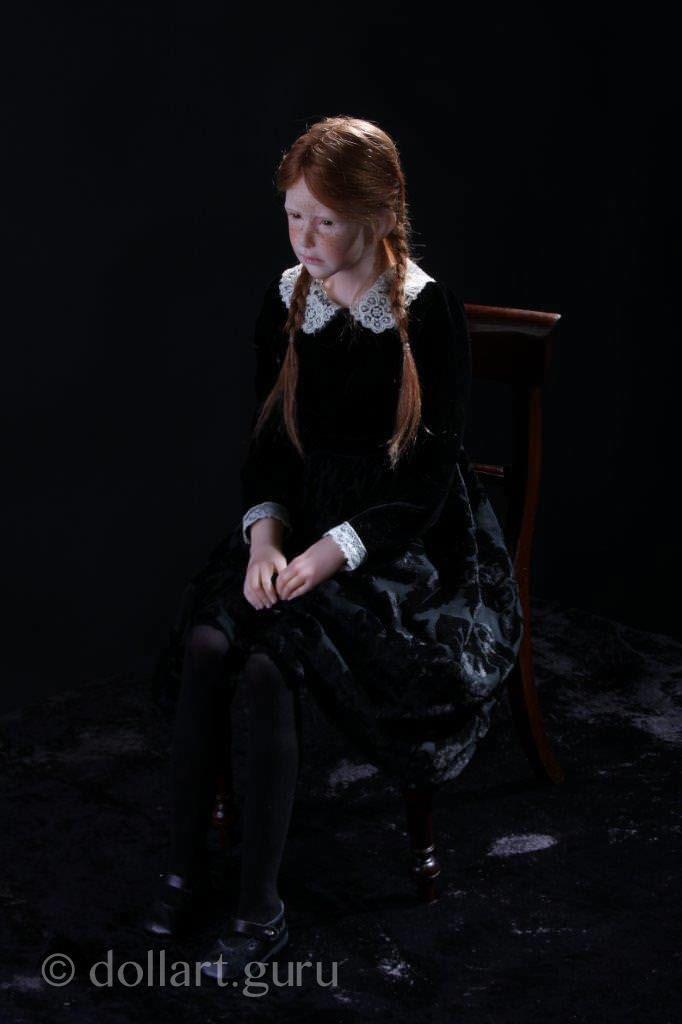Portrait. Авторская кукла Лауры Скаттолини | Doll Art Guru