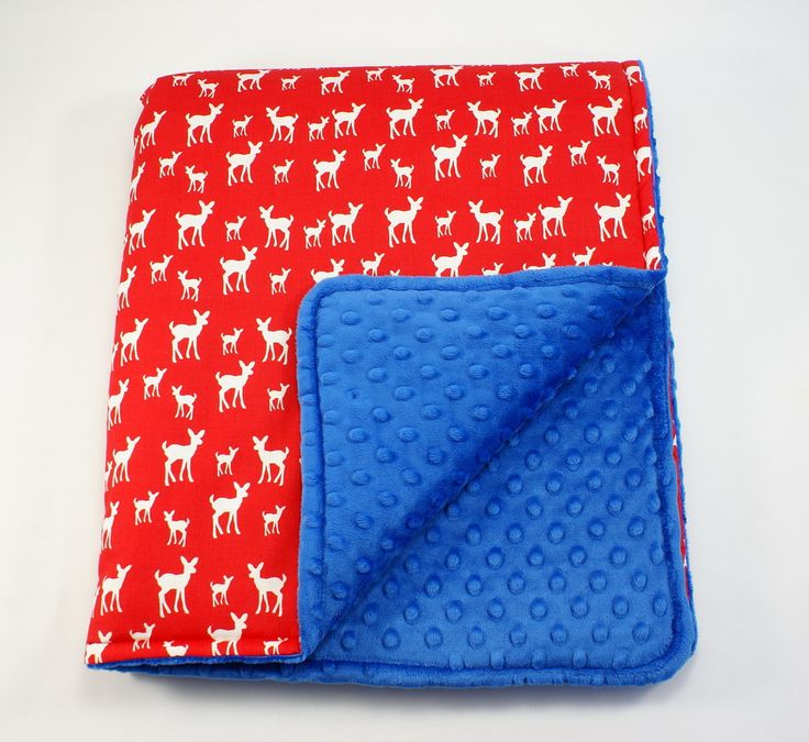 Little Sophie baby blanket #littlesophie #blanket #babyblanket #minky #deer