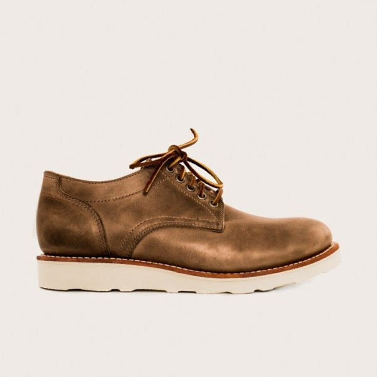 Fancy - Natural Trench Oxford by Oak Street Bootmakers