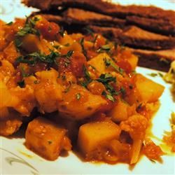 Madras potato curry @ allrecipes.co.uk