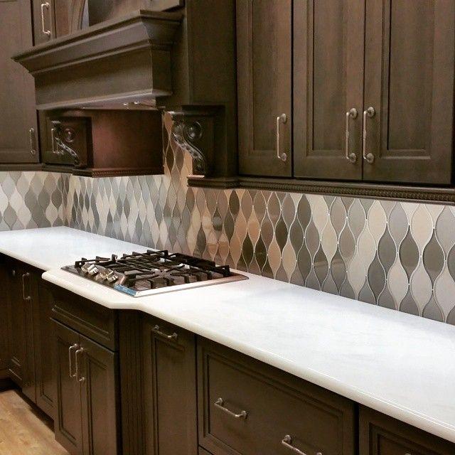 Glazzio Windchime Series Tiled Splashback Simple Understated Kitchensplashbacks