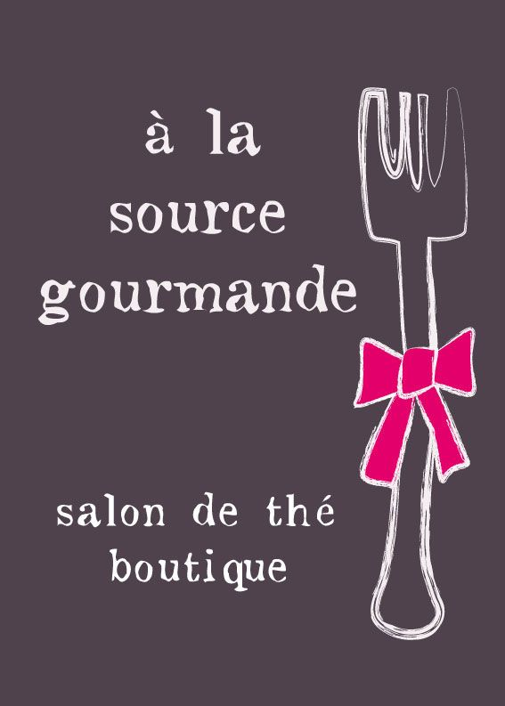 A la Source Gourmande : salon de thé boutique