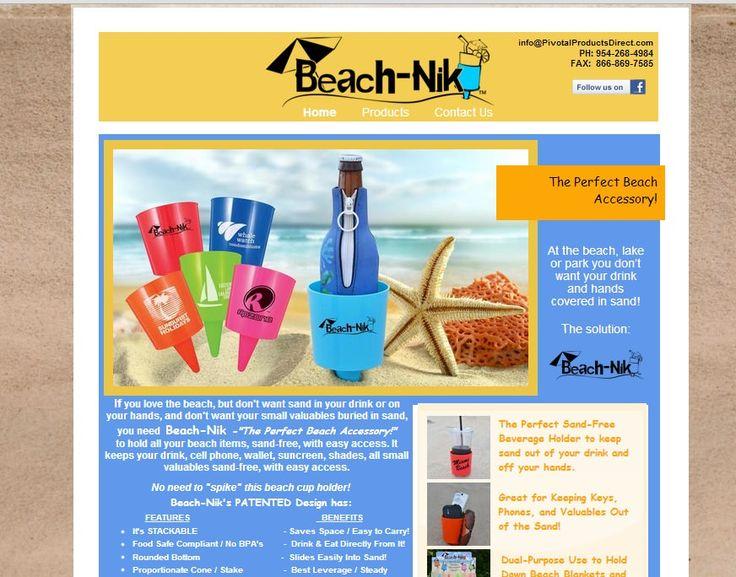 Beach-Nik website