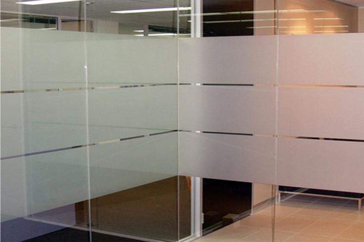 transluscent office windows