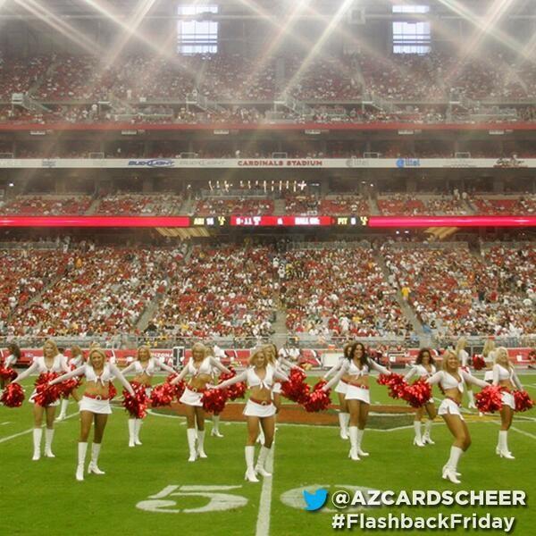 Arizona Cardinals Cheerleaders blast from the past. @azcardscheer @Arizona Cardinals Football Club #FlashbackFriday