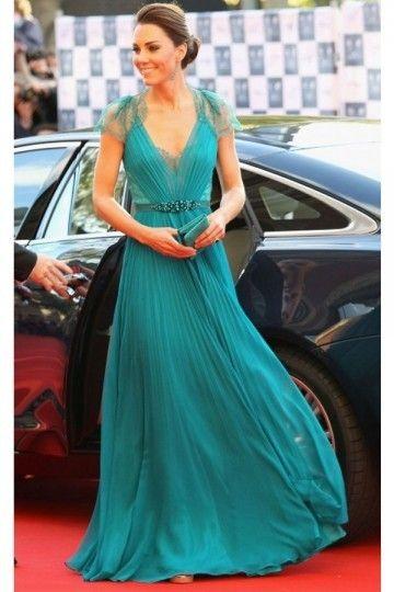 A-Line/Princess Sleeveless Pleats V-neck Floor-Length Chiffon Dresses