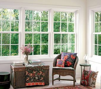 25 best ideas about anderson replacement windows on for Window treatments for double hung windows