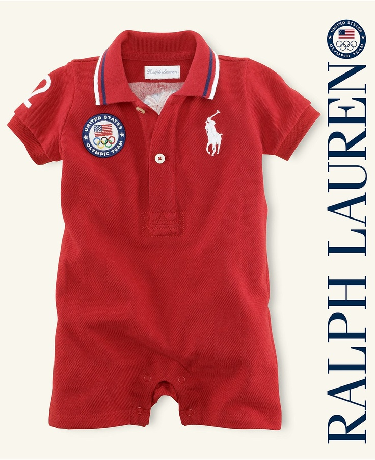 Ralph Lauren Baby Shortall Boys Team Usa Olympic