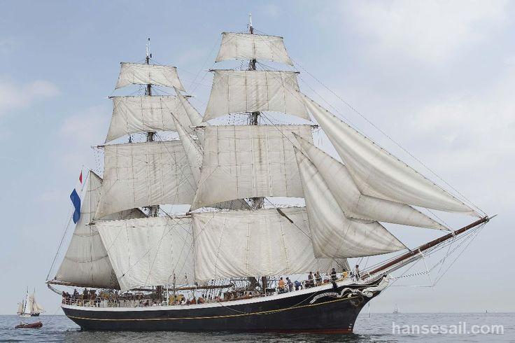 """Tall Ship """"Morgenster"""" @ Hanse Sail Rostock."""