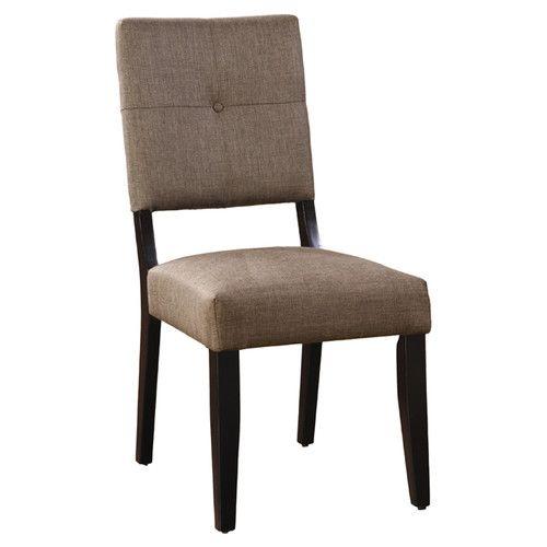 Venetian Worldwide Bayside II Dining Chair (Set Of Beige U0026 Tan