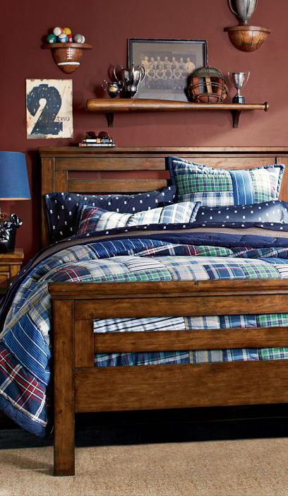 Hamilton Quilt Collection #boys bedrooms