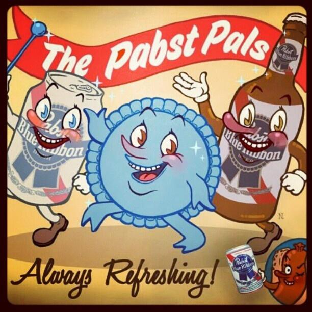 61 Best PBR Blue Ribbon Images On Pinterest