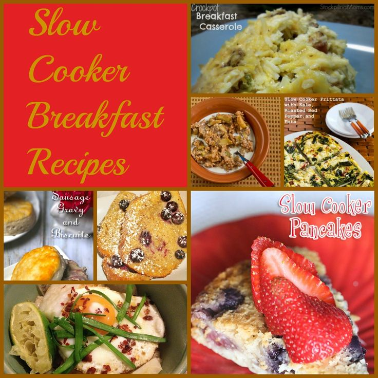 62 best crock pot creations images on pinterest kitchens for Slow cooker breakfast recipes for two
