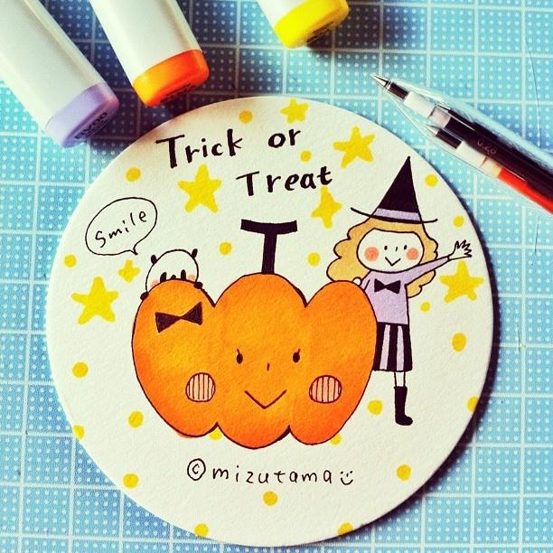 "@mizutamahanco's photo: ""Happy Halloween!"""