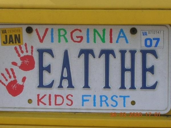 pictures of funny things | Virginia DMV Hates Funny Things [PIC]