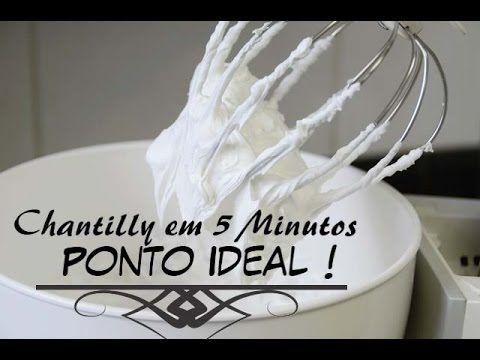 CHANTILLY FALSO BARATO. GASTE APENAS R$ 3,29/ INÉDITO - YouTube