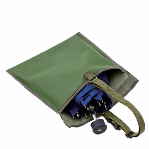 日本野鳥の会オリジナル傘袋。これは便利だ。