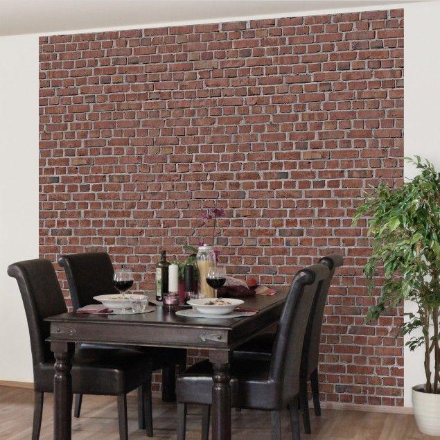 Die besten 25+ Tapete steinoptik Ideen auf Pinterest Steinoptik - tapeten wohnzimmer rot