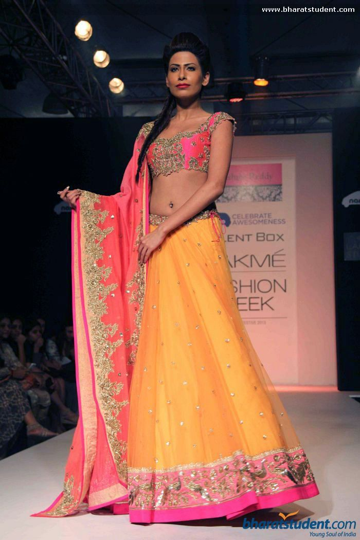 Anushree Reddy at Lakme Fashion Week Winter / Festive 2013