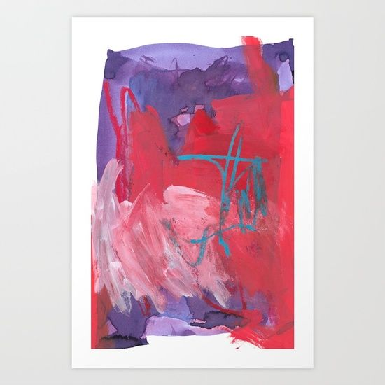 """""""Deliciously Loyal"""" abstract art by Leanne Simpson. This artwork is available at Society6 as an art print, phone case, tote bag and more! https://society6.com/leannesimpsonart"""