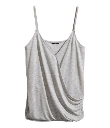 Wrap-front Tank Top