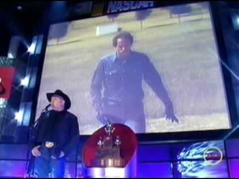 """""""Nascar Tribute Award for Dale""""  ( Very touching pictures of Dale's past and a well sung song by Garth Brooks called the """"Dance"""""""