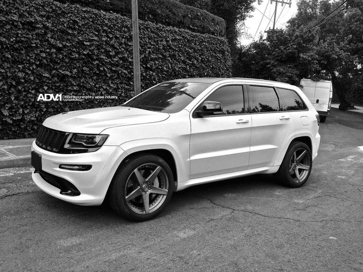 Jeep Grand Cherokee Srt8 | 2014 Jeep Grand Cherokee SRT8 Gets New ADV.1 Wheels - Photo Gallery