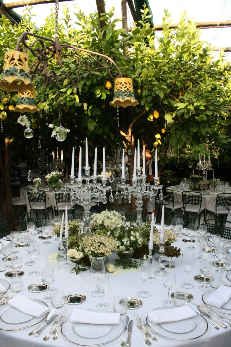 Authentic Italian Flair In This Beautiful Tablescape