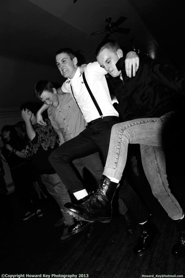 Skinhead! Trads! Boots and braces don't make a racist! Fred Perry shirts