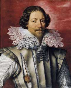 Franz Pourbus, The Younger ~ A French Gentleman with a Lace Collar
