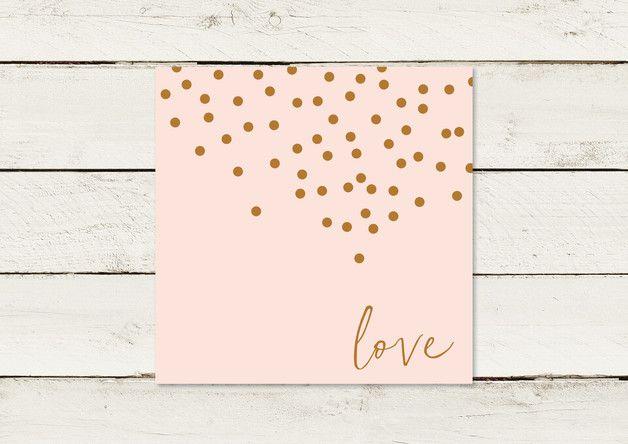 #dawandatrendfarben #lilalaunedesign #gold #rosequartz #hochzeit #einladung #karte #konfetti Grafik- und Illustrationsarbeiten © by lilalaunedesign