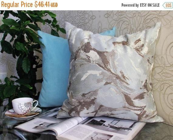 20% off Ikat Aqua Pillow Aqua Velvet Pillow Aqua Ikat Bed