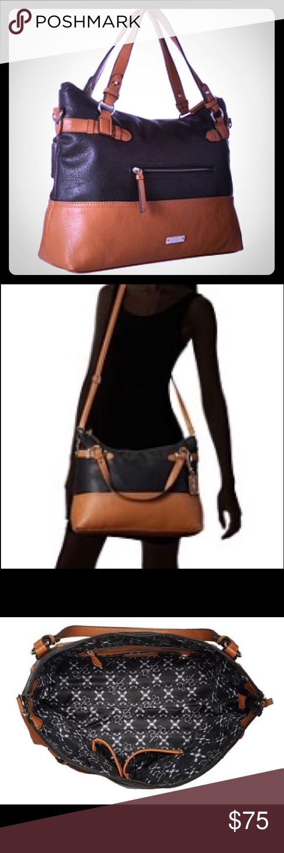 NWT Jessica Simpson Crossbody Katalina in Black This gorgeous large cross body bag from the Jessica Simpson collection is the perfect way to carry everything you need in perfect style. Jessica Simpson Bags Crossbody Bags