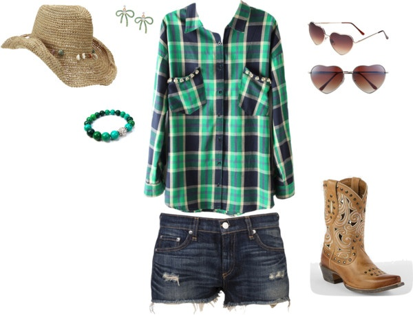 """country concert outfit"" by jenna-rosswurm on Polyvore"
