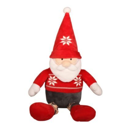 Sit this Santa on your shelf while he keeps an eye on who's being naughty or nice! #Festive #Santa