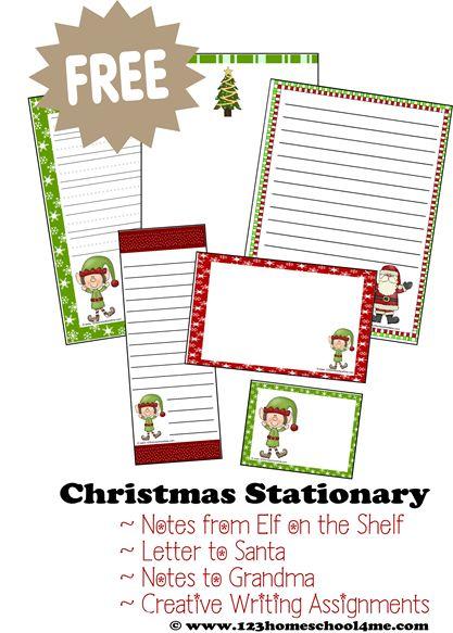 Santa Claus Writing Paper Set