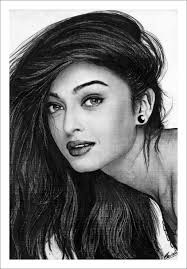 aishwarya rai drawing