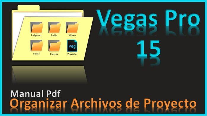 Blog Videoedition By Carlos Nibe Manual Pdf Guardar Y Organizar Archivos En Sony Ve Archivadores Organizar Vegas