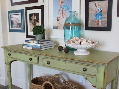Behru0027s Asparagus Without Primer. Mixed Up Her Own Chalk Paint (1 1/2. Distressed  FurnitureRustic FurnitureRepurposed ...