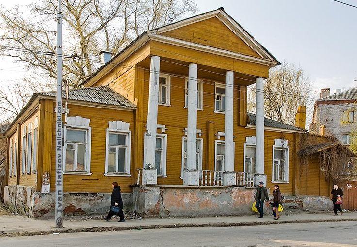 Рязань, усадьба семьи Херасковых.   Nalichniki.com