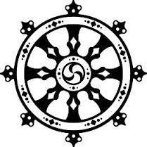 buddhist wheel tattoo - Google Search