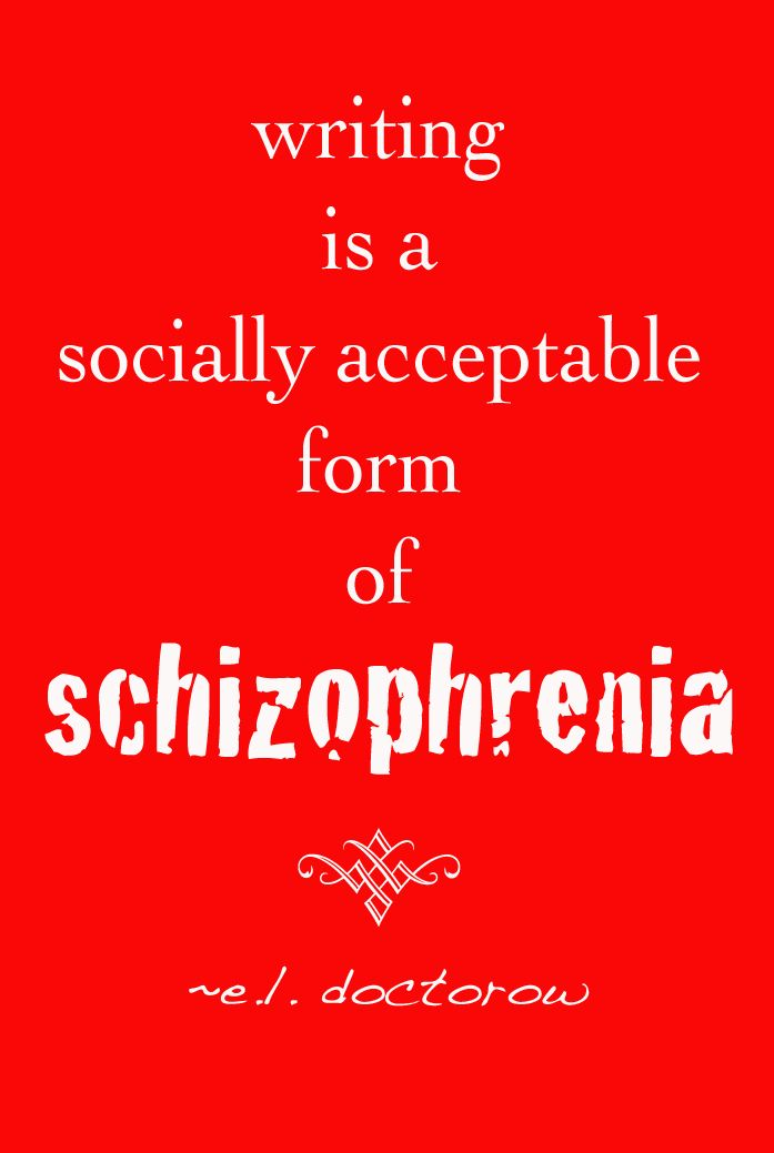 schizophrenic writings Handwriting analysis diagnoses major nervous system disorders say a great deal about how we may have felt at the time of writing schizophrenia.