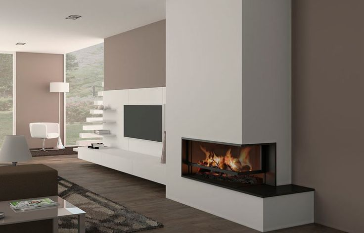 M s de 25 ideas incre bles sobre estufas modernas en - Fotos chimeneas modernas ...