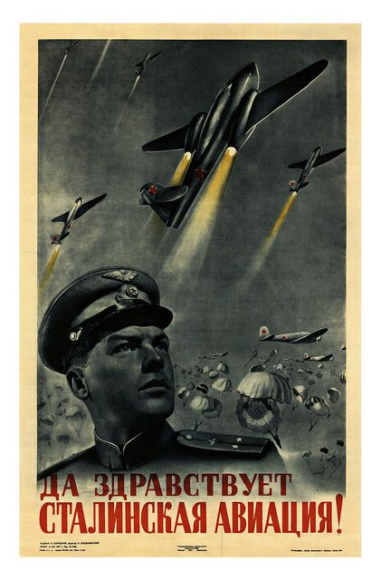 Long Live Stalin's Aviation!    1947