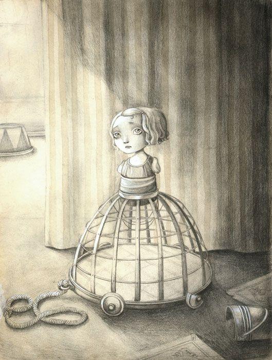 Hermosas ilustraciones de Benjamin Lacombe