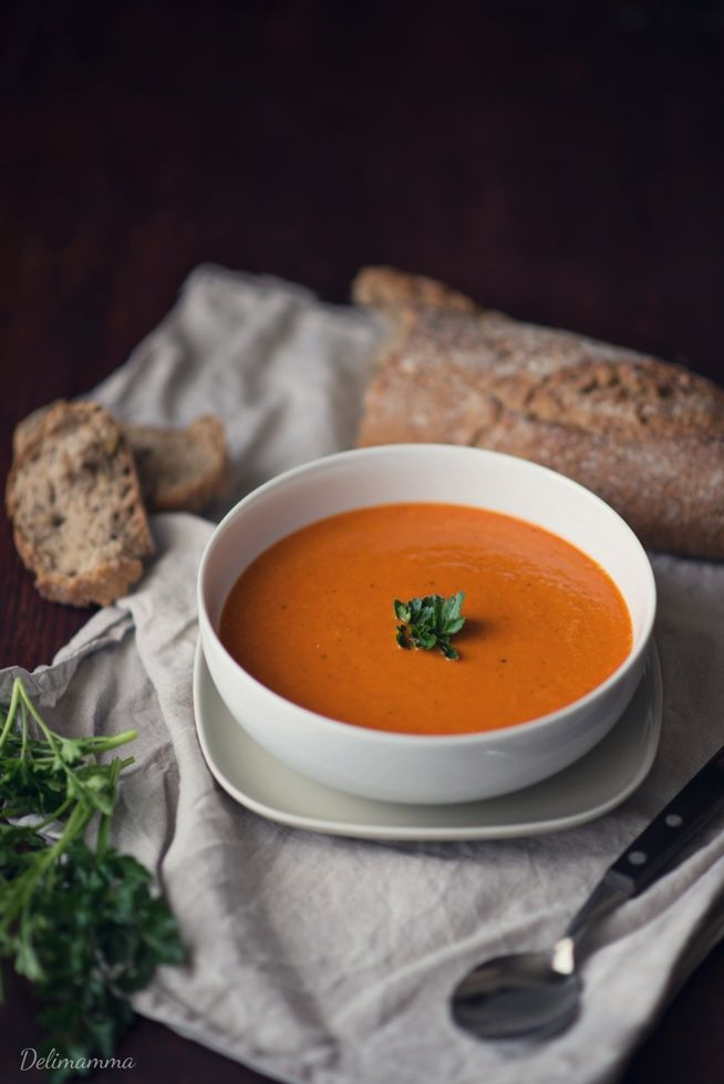 Delimamma: Zupa - krem z pomidorów