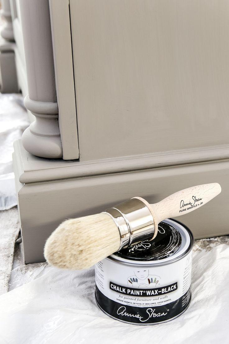 Peinture Bois Gris Patiné relooking vanité aspect bois gris patiné | peinture des