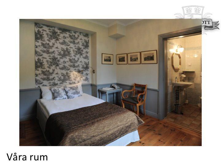Hotellrum, logi, sovrum, inredning